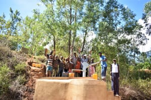 The Water Project: Ivumbu Community A -  Complete Well