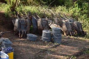 The Water Project: Ivumbu Community A -  Construction Site