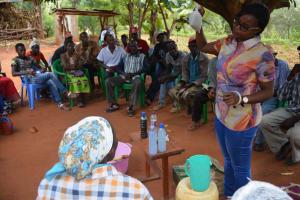 The Water Project: Ivumbu Community A -  Soapmaking