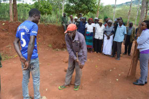 The Water Project: Ivumbu Community A -  Training