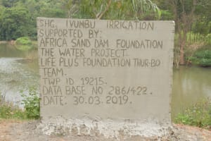 The Water Project: Ivumbu Community A -  Well Dedication
