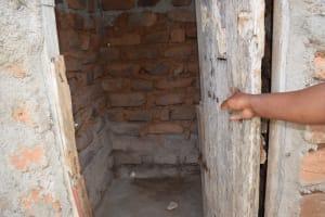 The Water Project: Kaketi Community A -  Bathing Shelter