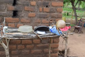 The Water Project: Kaketi Community A -  Dish Rack