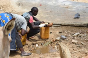 The Water Project: Kaketi Community A -  Fetching Water