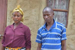 The Water Project: Kaketi Community A -  Lenah Wanza And Her Husband