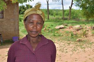 The Water Project: Kaketi Community A -  Lenah Wanza