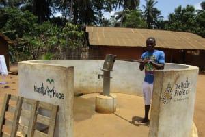 The Water Project: Kigbal Community -  Mohamed Kamara