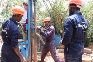 The Water Project: Mummy Ann's Pre-Primary School -  Drilling