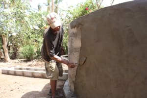 The Water Project: Mummy Ann's Pre-Primary School -  Pad Construction