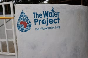 The Water Project: Mummy Ann's Pre-Primary School -  Plaque