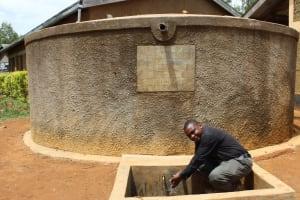 The Water Project: Madivini Primary School -  Deputy Headteacher Bonventure Akhwesa