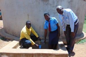 The Water Project: Esibeye Secondary School -  Erick Rumona Omulo