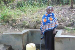 The Water Project: Shiyunzu Community, Imbukwa Spring -  Jackline Akola
