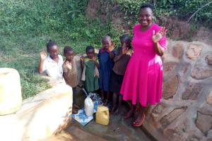 The Water Project: Ataku Community, Ataku Spring -  All Smiles