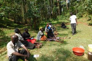 The Water Project: Wajumba Community, Wajumba Spring -  Training