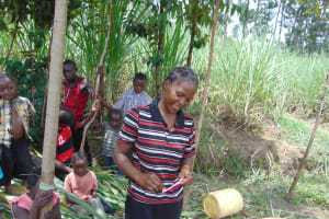 The Water Project: Burachu B Community, Namukhuvichi Spring -  Dental Hygiene Training