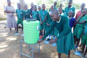 The Water Project: Ebutenje Primary School -  Handwashing Training