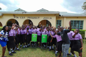 The Water Project: Namanja Secondary School -  Group Picture