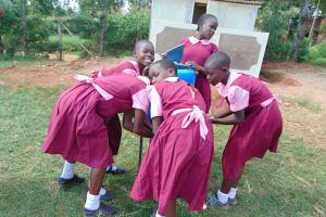 The Water Project: Kitumba Primary School -  Handwashing Fun