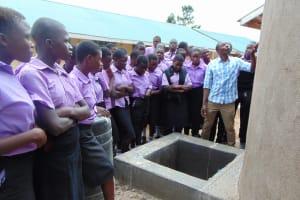 The Water Project: Namanja Secondary School -  Tank Care Training