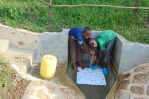 The Water Project: Mukoko Community, Mukoko Spring -  Flowing Water
