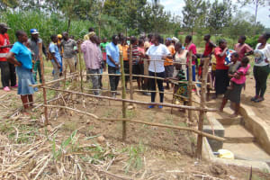 The Water Project: Burachu B Community, Namukhuvichi Spring -  Spring Care Training