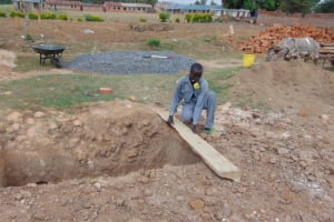 The Water Project: Namanja Secondary School -  Pit For The New Latrines