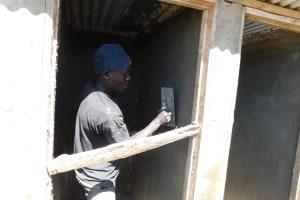 The Water Project: Namanja Secondary School -  Latrine Construction