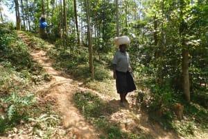 The Water Project: Wajumba Community, Wajumba Spring -  Carrying Sand