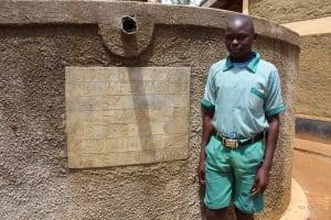 The Water Project: Madivini Primary School -  Student David Mulira