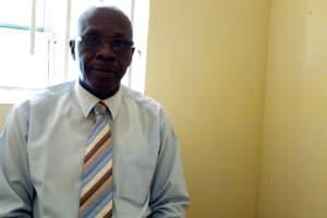 The Water Project: Esibeye Secondary School -  Deputy Principal Omulo Owich