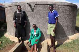 The Water Project: Bukhubalo Primary School -  Flowing Water