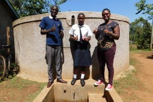 The Water Project: Shanjero Secondary School -  Smiles For Running Water