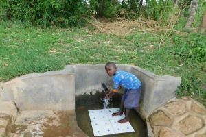 The Water Project: Shihingo Community, Mulambala Spring -  Justin Mulama