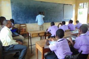The Water Project: Namanja Secondary School -  Training