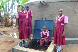The Water Project: Kitumba Primary School -  Running Water
