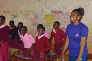 The Water Project: Kitumba Primary School -  Training