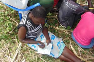 The Water Project: Burachu B Community, Namukhuvichi Spring -  Taking Notes