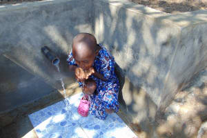 The Water Project: Eshiasuli Community, Eshiasuli Spring -  Slurp