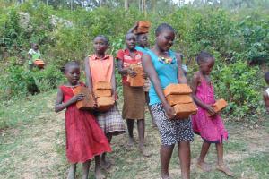 The Water Project: Eshiasuli Community, Eshiasuli Spring -  So Strong