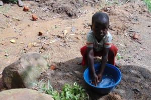 The Water Project: Eshiasuli Community, Eshiasuli Spring -  Willing Participant