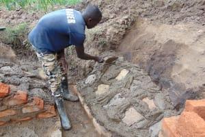 The Water Project: Burachu B Community, Namukhuvichi Spring -  Stone Pitching