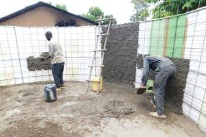 The Water Project: Namanja Secondary School -  Tank Construction