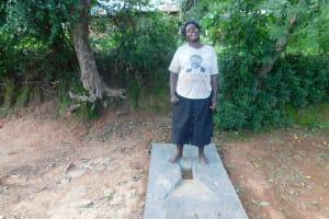 The Water Project: Wajumba Community, Wajumba Spring -  Sanitation Platform