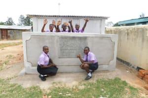 The Water Project: Namanja Secondary School -  New Latrines