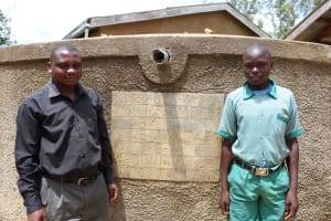 The Water Project: Madivini Primary School -  Standing Proud