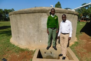 The Water Project: Bushili Secondary School -  Julius And Jonathan
