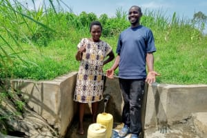 The Water Project: Musango Community, Dawi Spring -  Caught Laughing