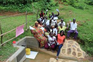 The Water Project: Wajumba Community, Wajumba Spring -  Thank You
