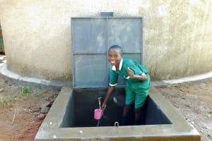 The Water Project: Ebutenje Primary School -  Flowing Water